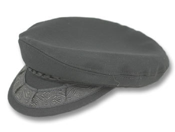 Greek Fisherman s Hat in Black Wool 60a3b70e3b04